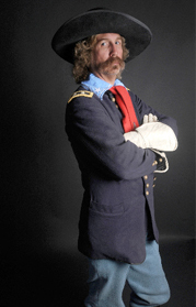 Steve Alexander as George Armstrong Custer
