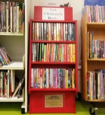 On the children's bookshelf