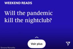 Copie d'écran Instagram de The Economist