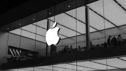 Logo Apple sur un immeuble