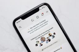 ClubHouse dans un écran d'iPhone