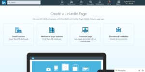 create a company profile on LinkedIn