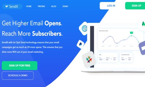 Email Marketing Software SendX
