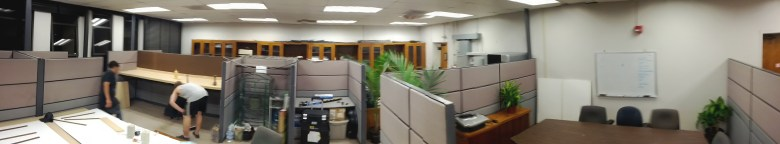 Newly renovated office: VEC 523