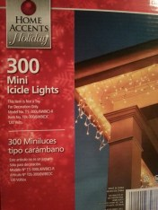 We had to make a last minute Home Depot run because we were one strand of lights short to finish the deck. Its always something!