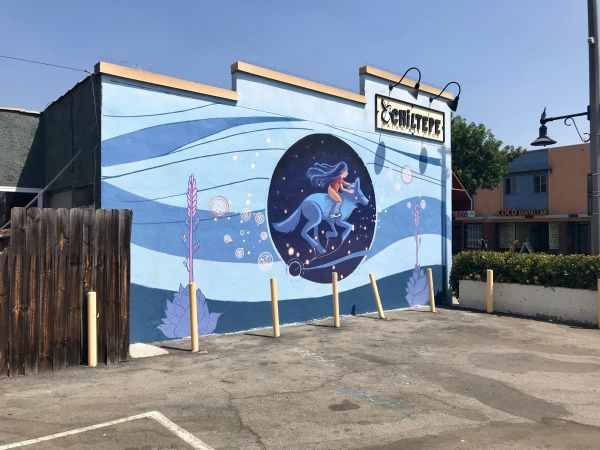 Mural In North Long Beach Brings Attention Family