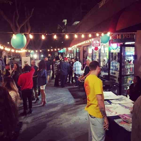 In Arts District With Council Takes Long Beach Art Walk