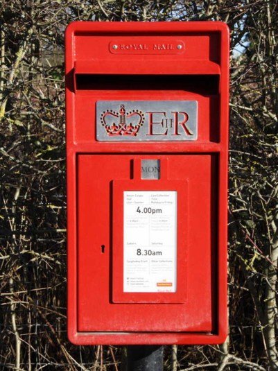 E2R lamp box, 2010s, mid Wales. Gerry Cork