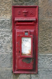 E7R wall box, 1900s, South West Scotland. Andrew R Young