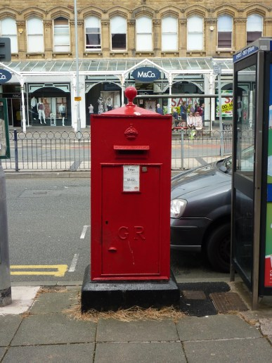 GR freestanding wall box, 1920s, North Wales. Andrew R Young