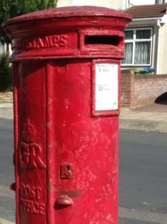 GR pillar box, 1920s, London. Robert Morgan