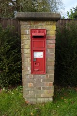 VR wall box, 1880s, Bucks. Andrew R Young