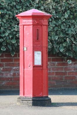 VR pillar box, 1850s, Suffolk. Robert Cole