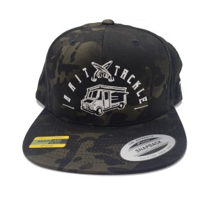 The Tackle Truck 6 Panel Hat - Camo