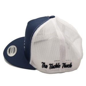 The Tackle Truck Trucker Style Hat (Side) - Navy/White