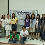 Participants from the University of the Philippines Rural High School.
