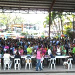4P beneficiaries gather for First Payout Pantawid Pamilya LB