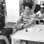 MHO, nagsagawa ng blood donation drive