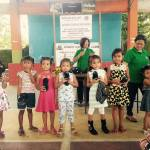 Kiwanis Club LB completes 3-month feeding program in Brgy. Maahas