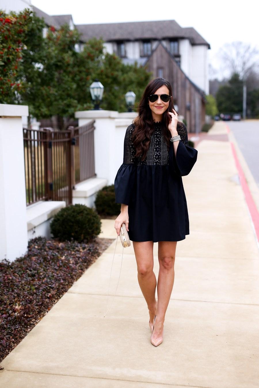 black dress under $100