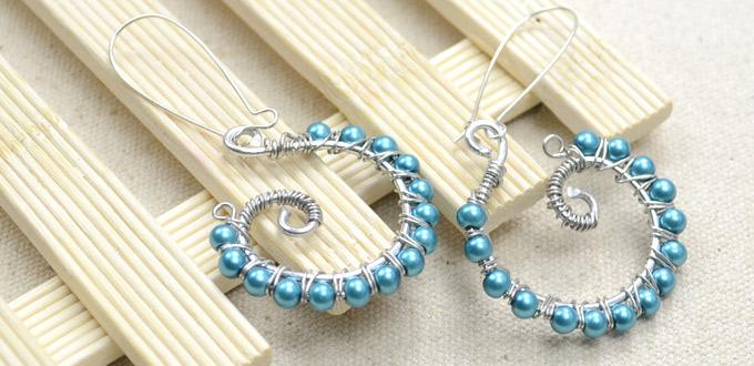 making distinctive earrings with