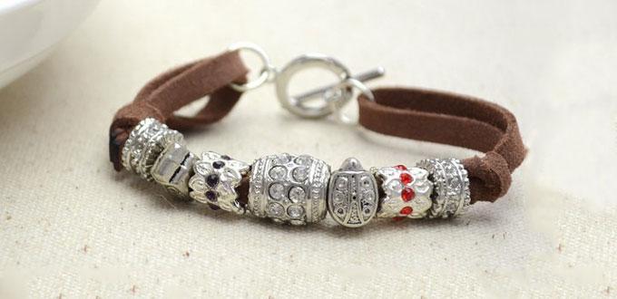 Suede Cord Bracelet 2