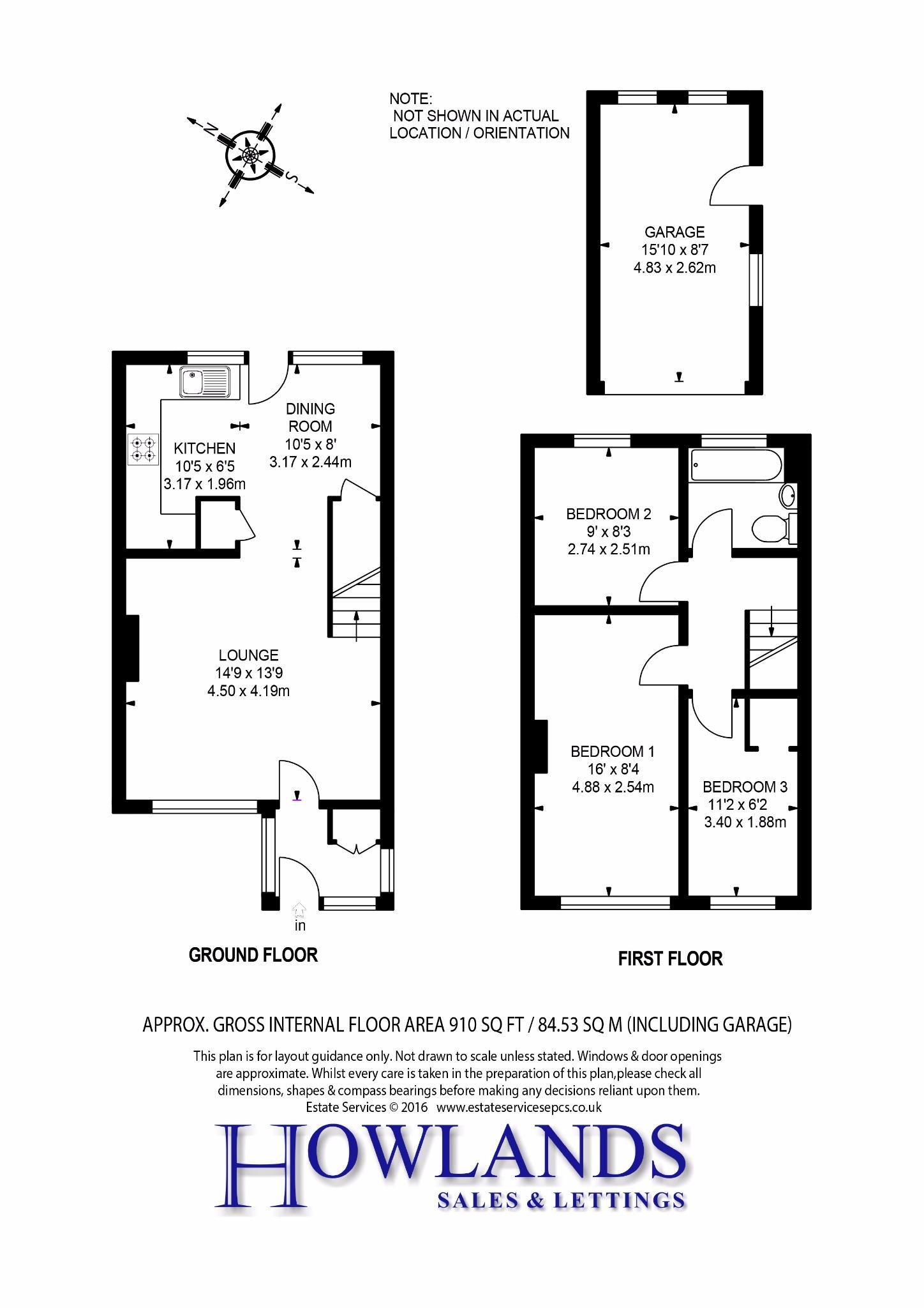 Gloucester Road, Bagshot GU19, 3 bedroom terraced house