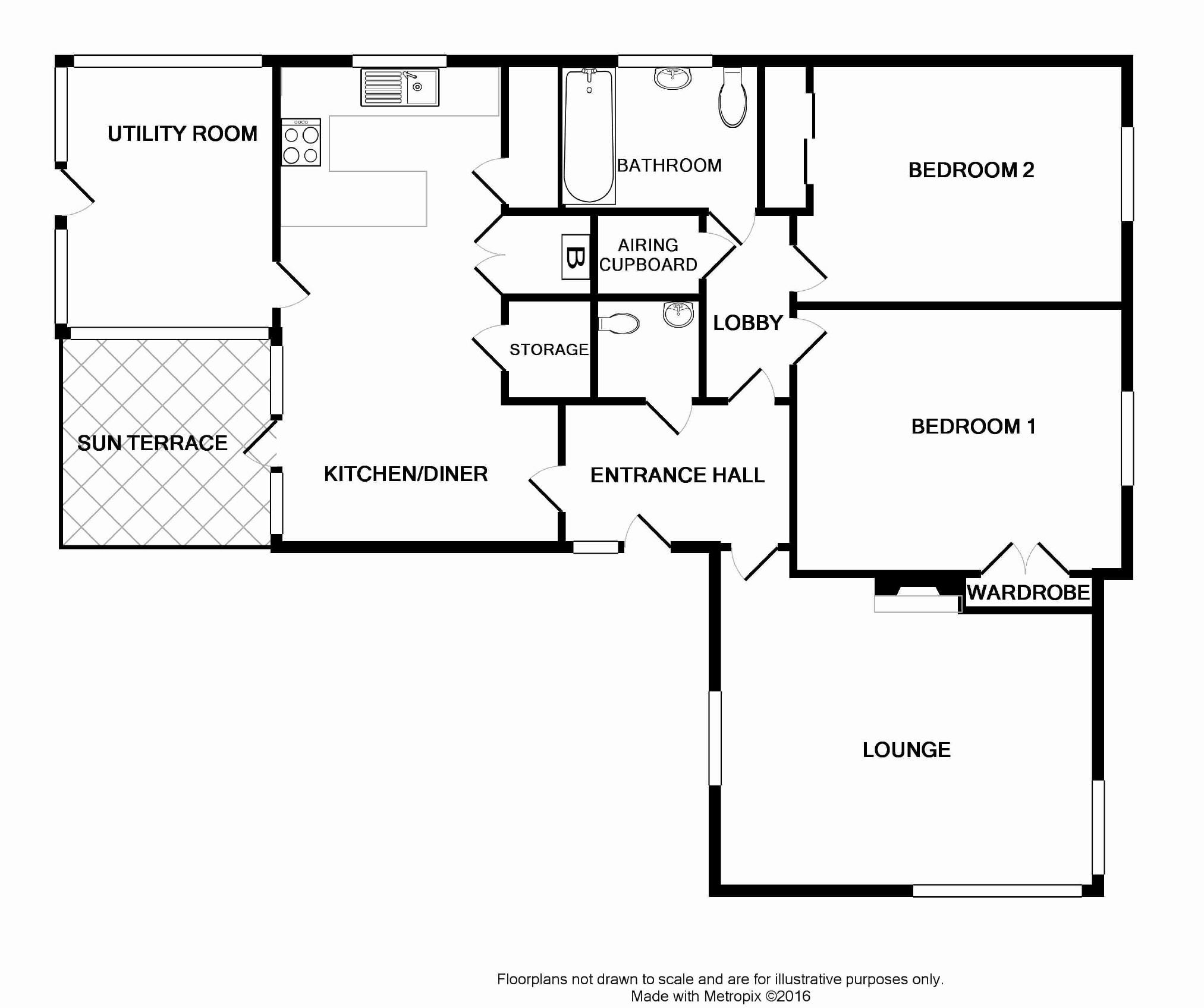 Park Road, Shirehampton, Bristol BS11, 2 bedroom bungalow