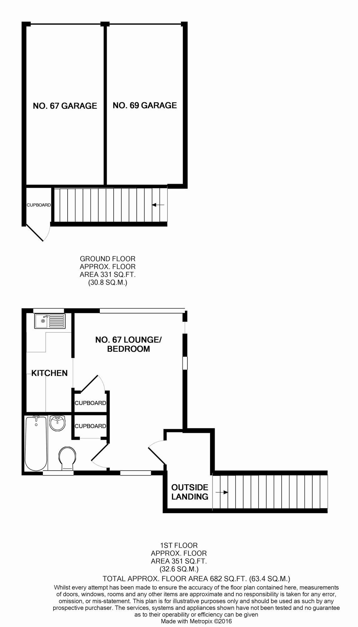 Harebell Way, Carlton Colville, Lowestoft NR33, studio for