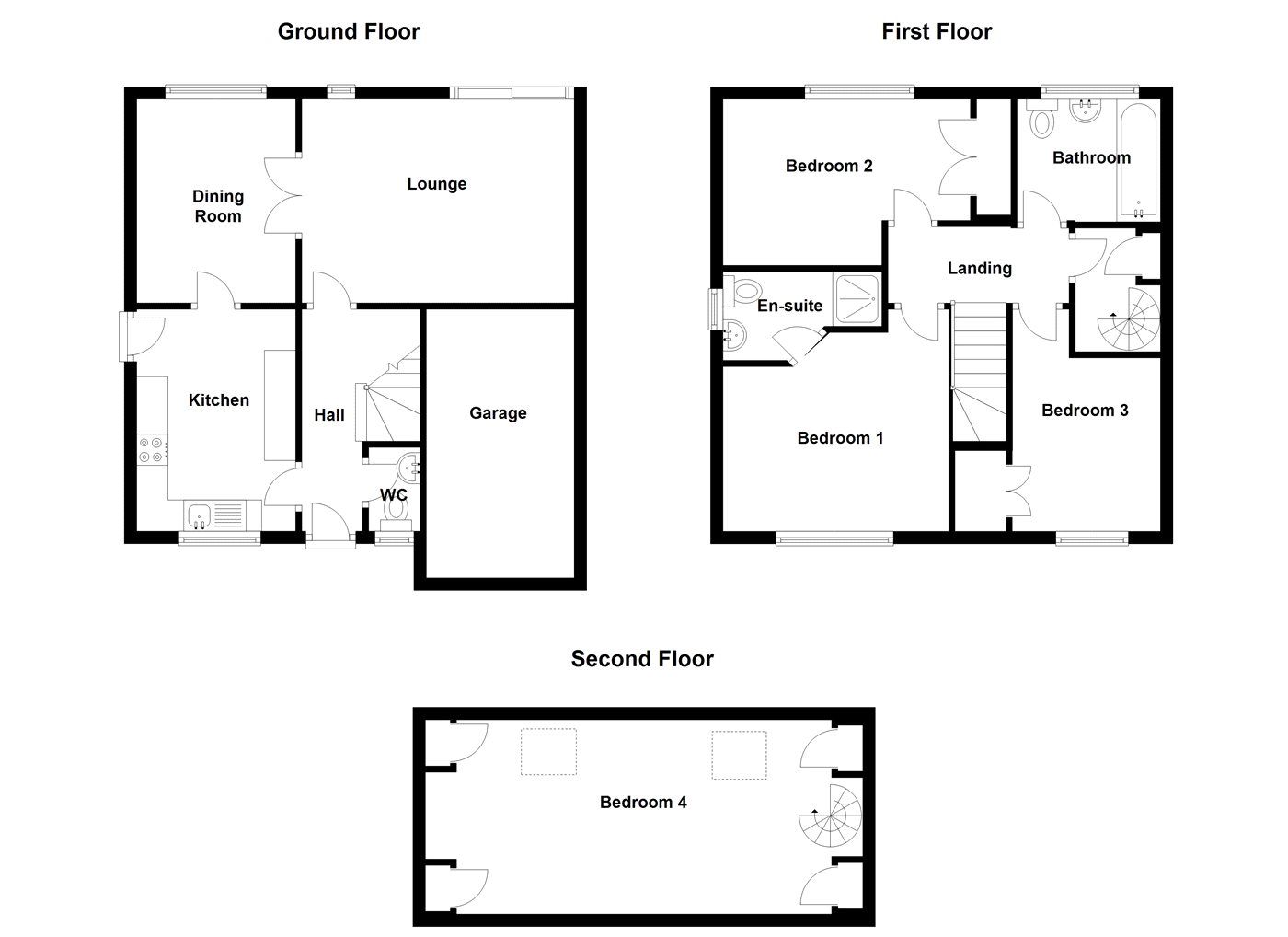 4 Bed Detached House For Sale In Hollowbrook Close