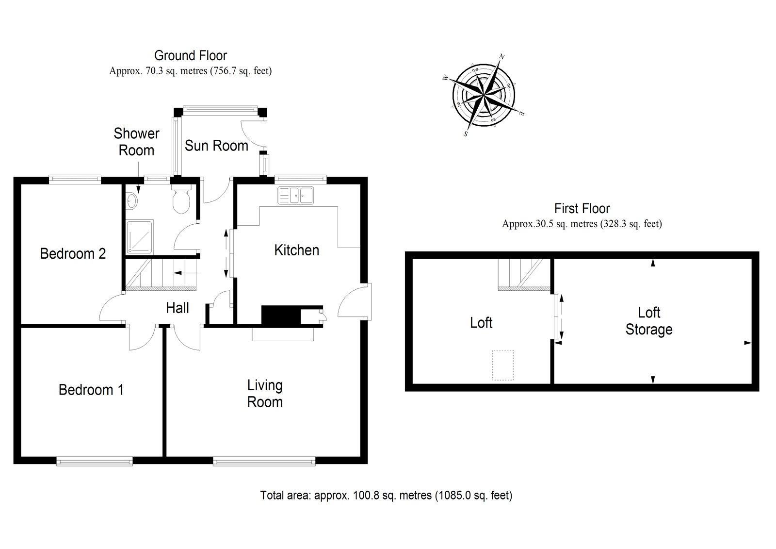 Bamff View, New Alyth, Blairgowrie PH11, 2 bedroom