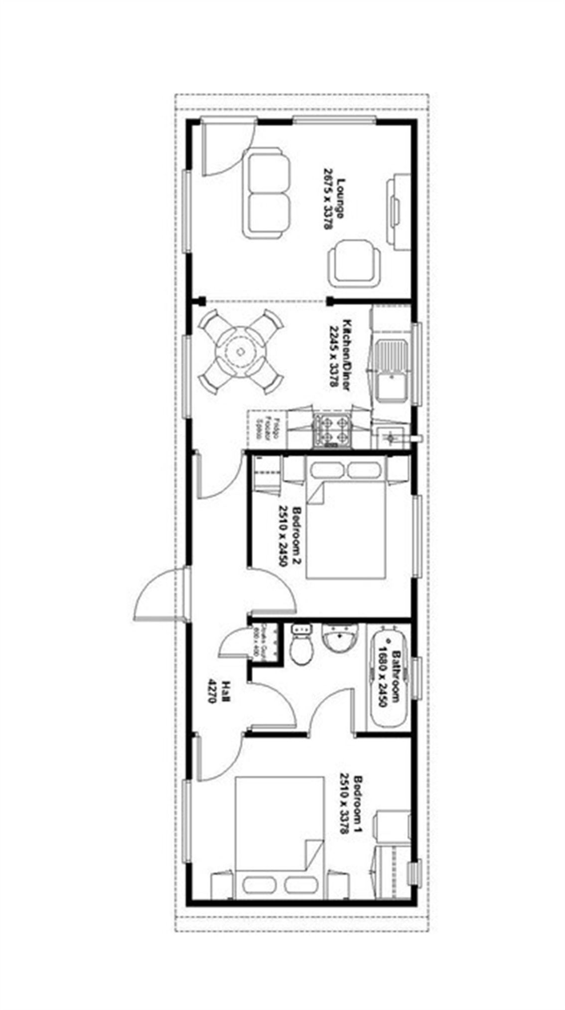 2 bed mobile/park home for sale in Blue Dolphin Park