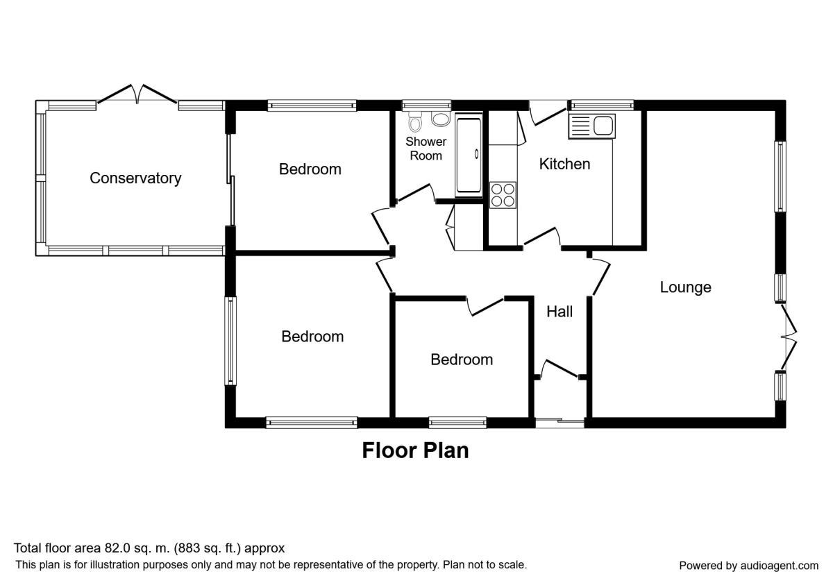 Valda Vale, Immingham DN40, 3 bedroom bungalow for sale
