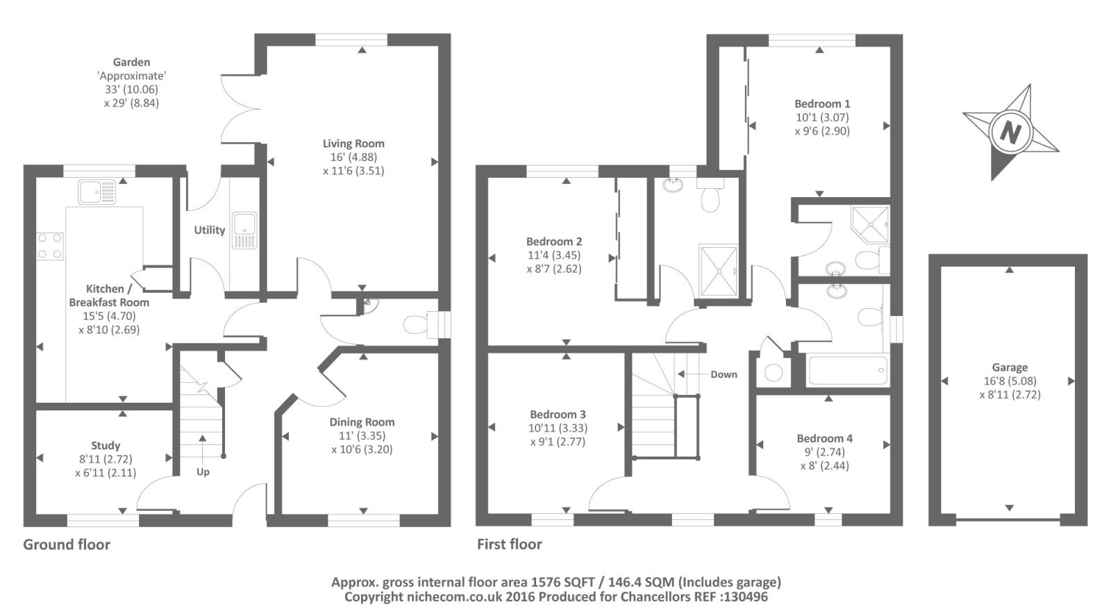 Gilligans Way Faringdon Sn7 4 Bedroom Detached House For