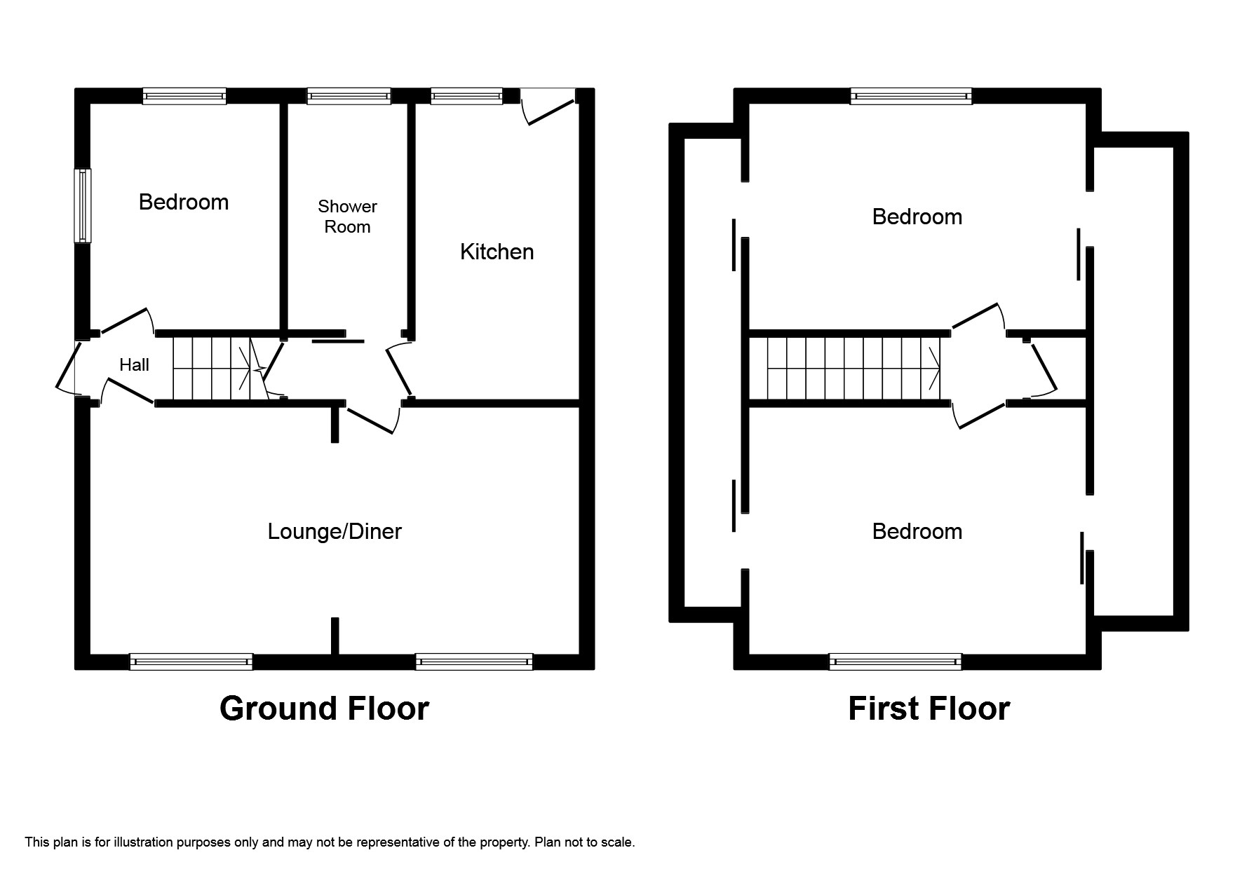 Downs View, West Looe PL13, 3 bedroom detached house for