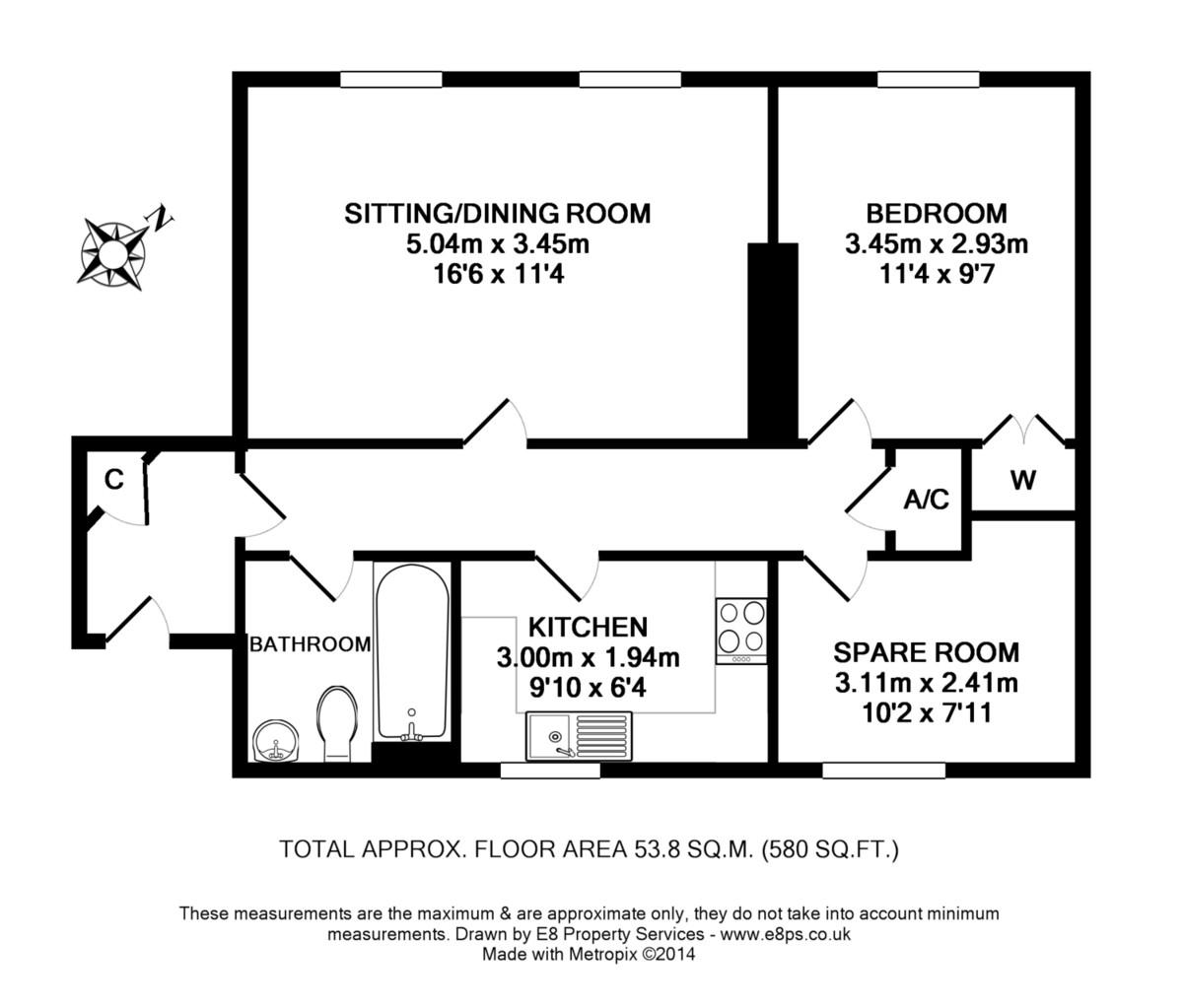 Mandelbrote Drive, Littlemore, Oxford OX4, 2 bedroom flat