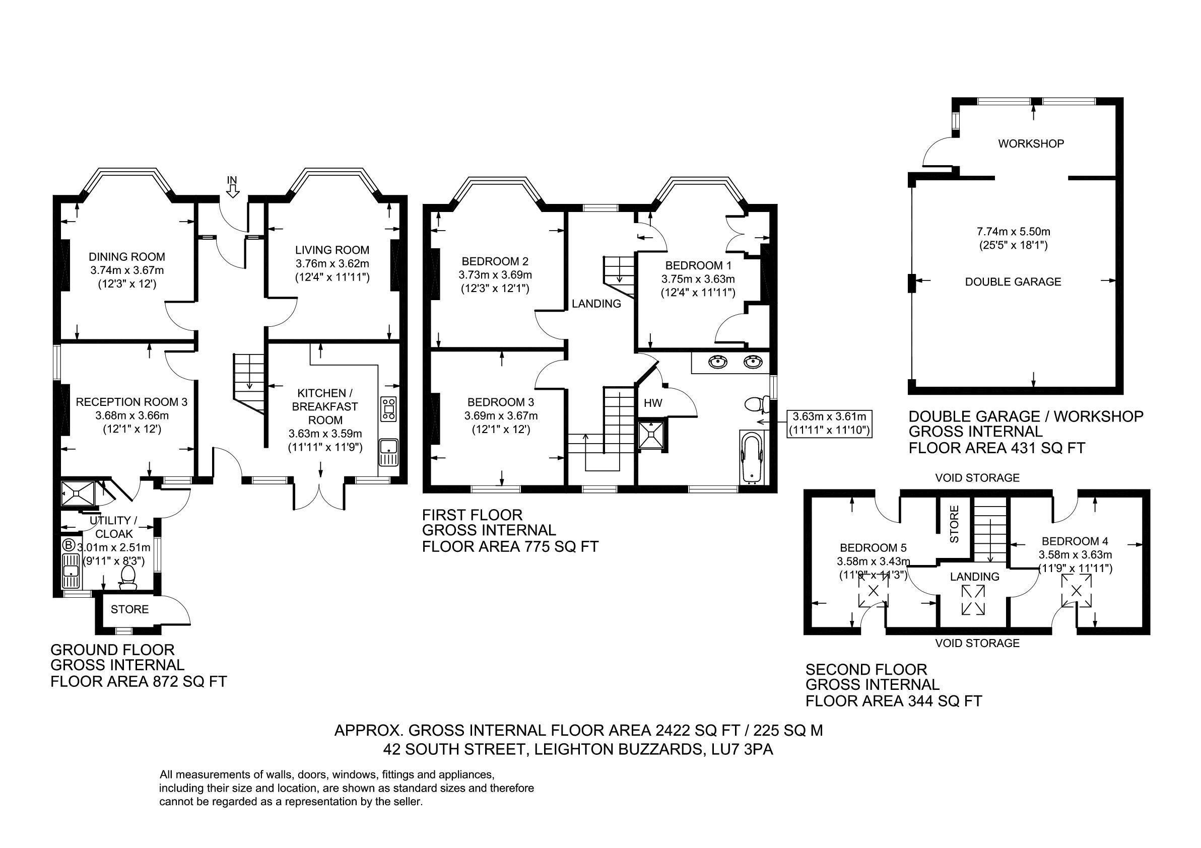 South Street, Leighton Buzzard LU7, 4 bedroom detached