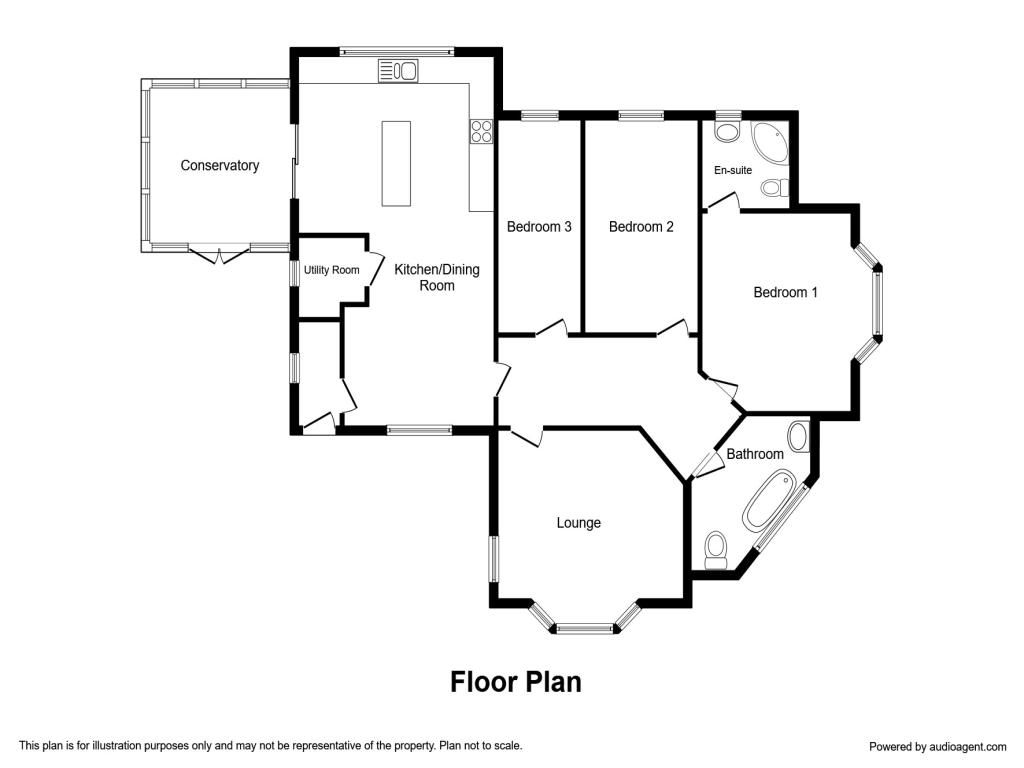 Manchester Lane, Hartshorne, Swadlincote DE11, 3 bedroom