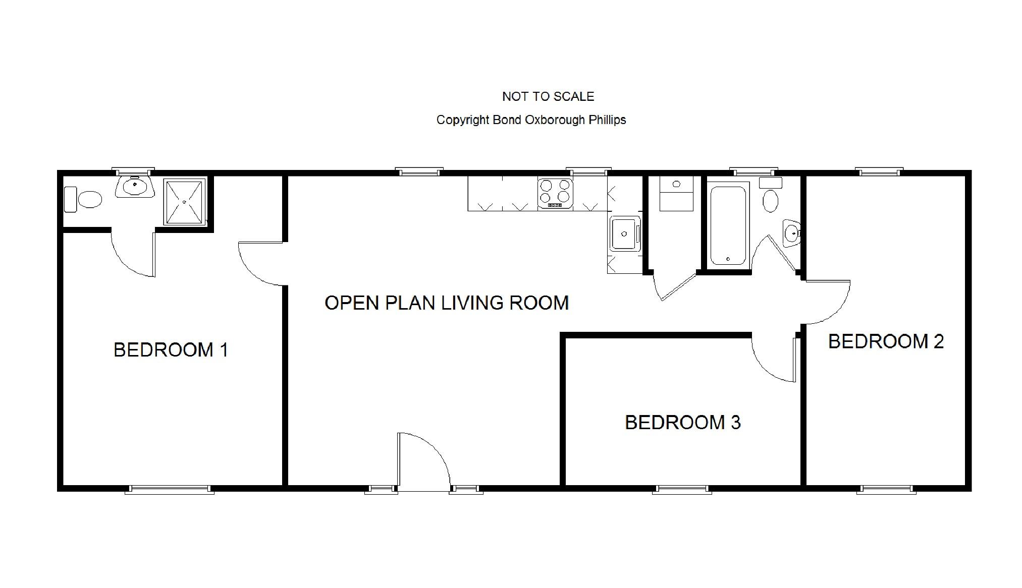 Bishops Tawton, Barnstaple EX32, 3 bedroom bungalow for