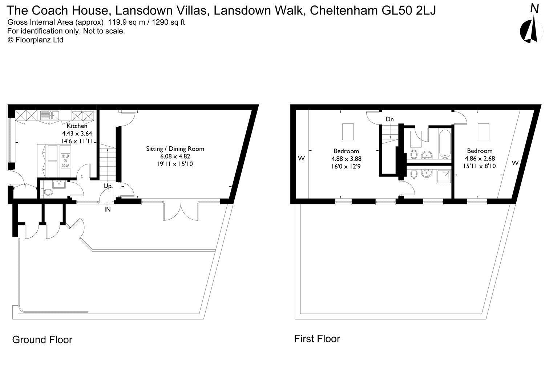 Lansdown Walk Cheltenham Gloucestershire Gl50 2 Bedroom