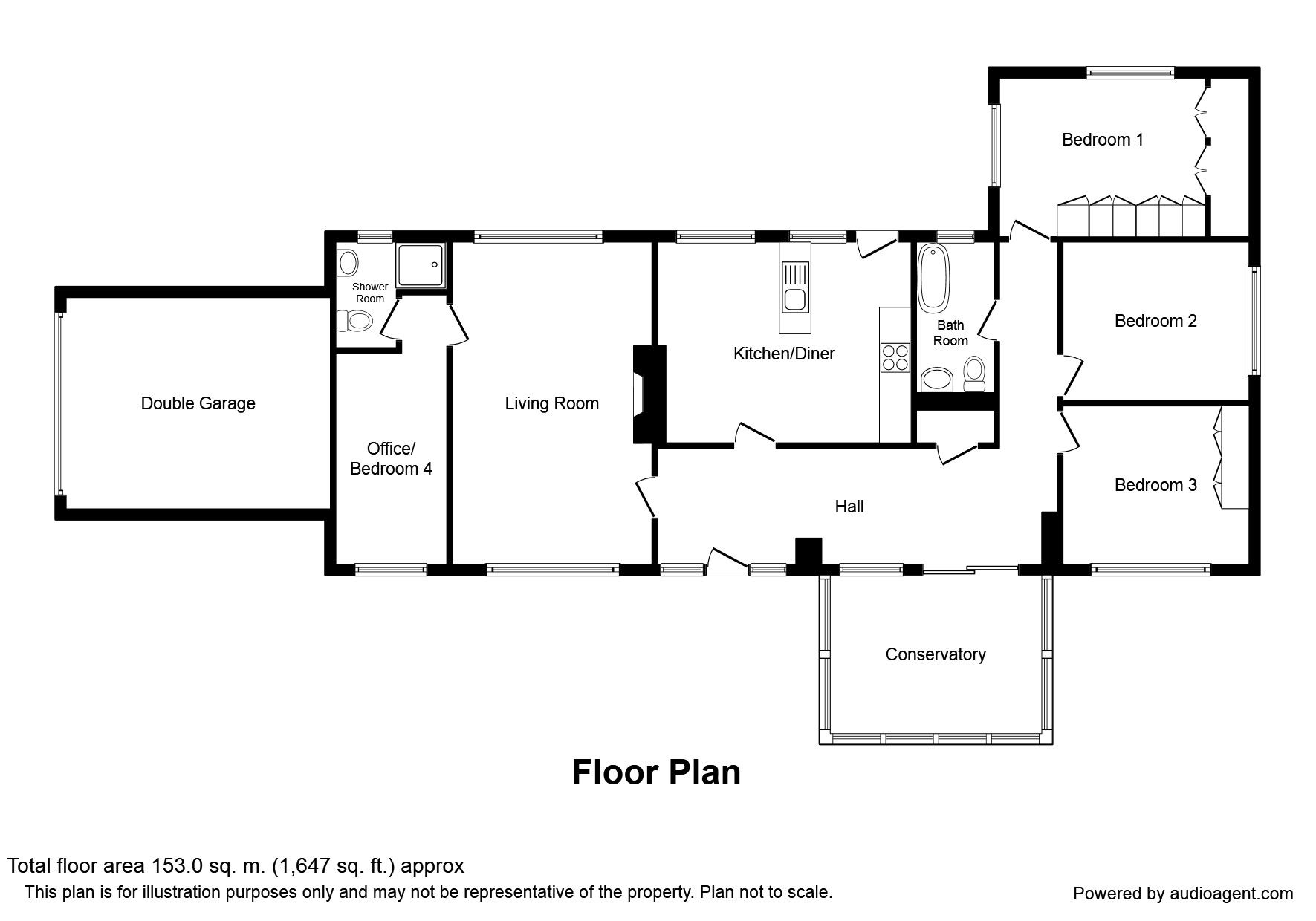 Holburn Gardens, Ryton NE40, 4 bedroom bungalow for sale