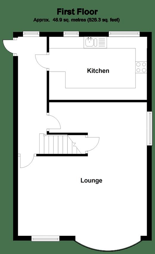 Wells Road, Rochester, Kent ME2, 3 bedroom flat for sale
