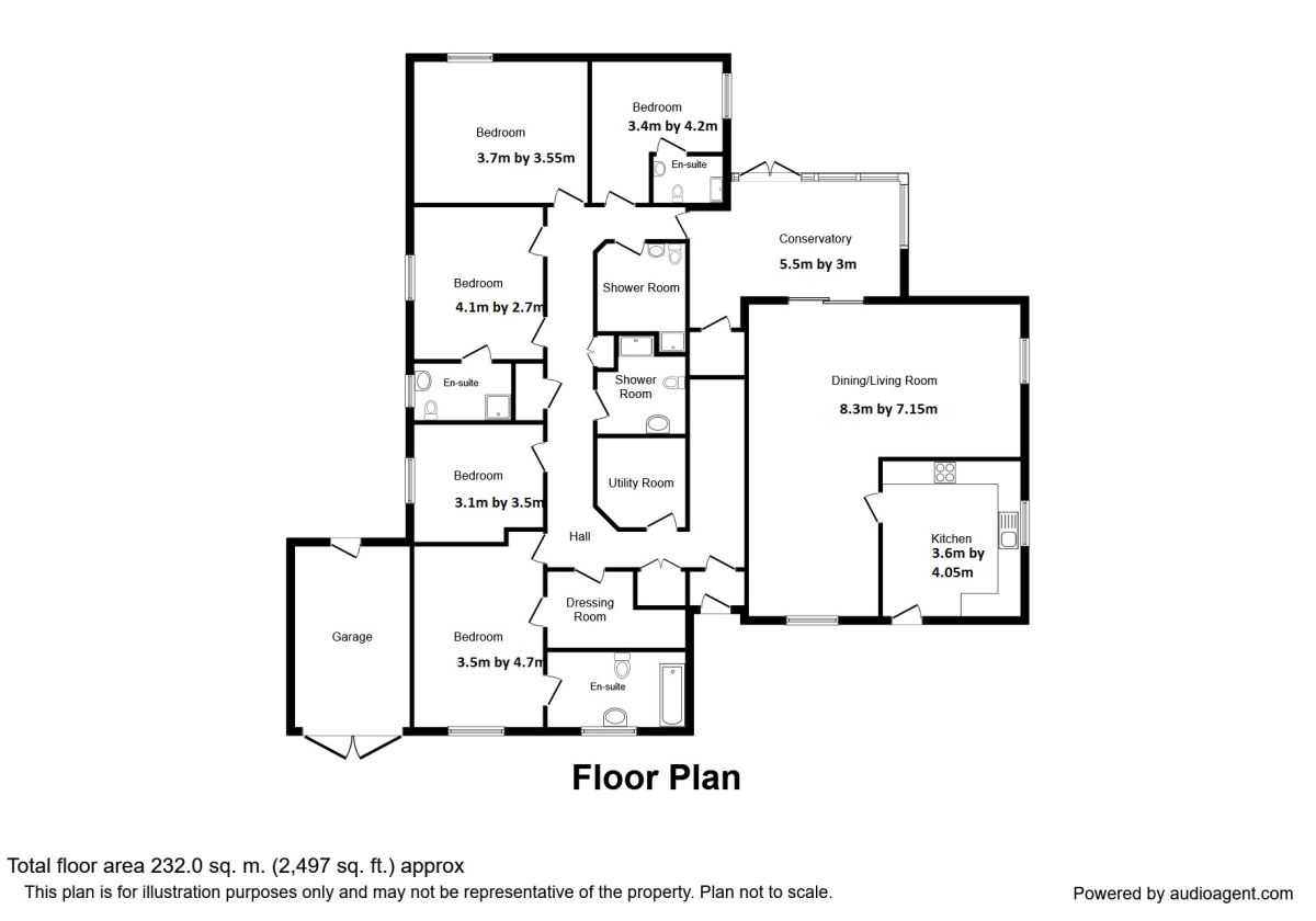 Southerness, Dumfries DG2, 5 bedroom bungalow for sale
