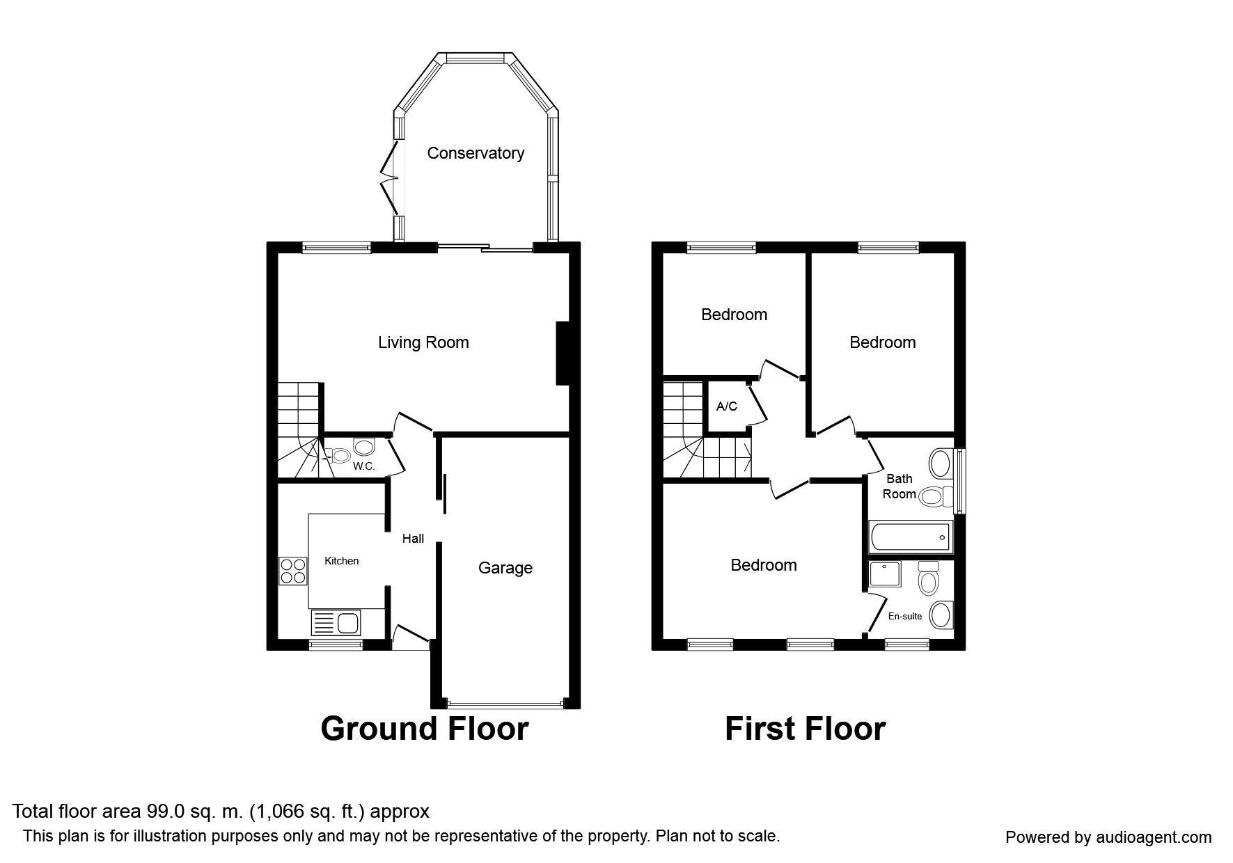 Blackberry Close, South Hykeham, Lincoln LN6, 3 bedroom