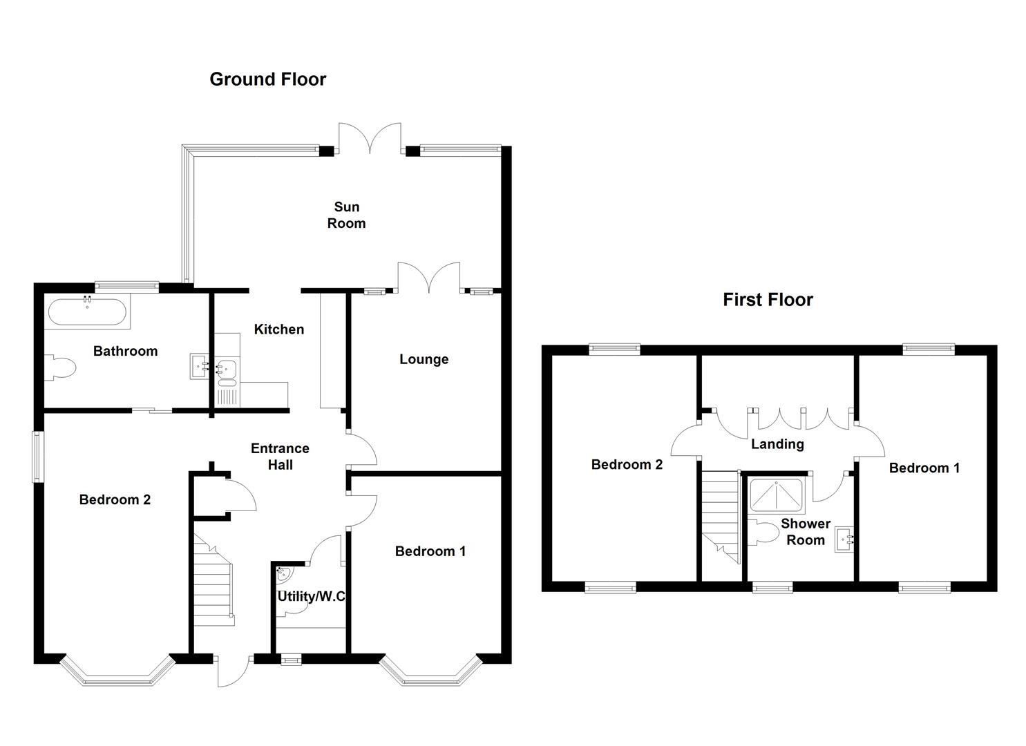 Hall Lane, Packington LE65, 4 bedroom semi-detached