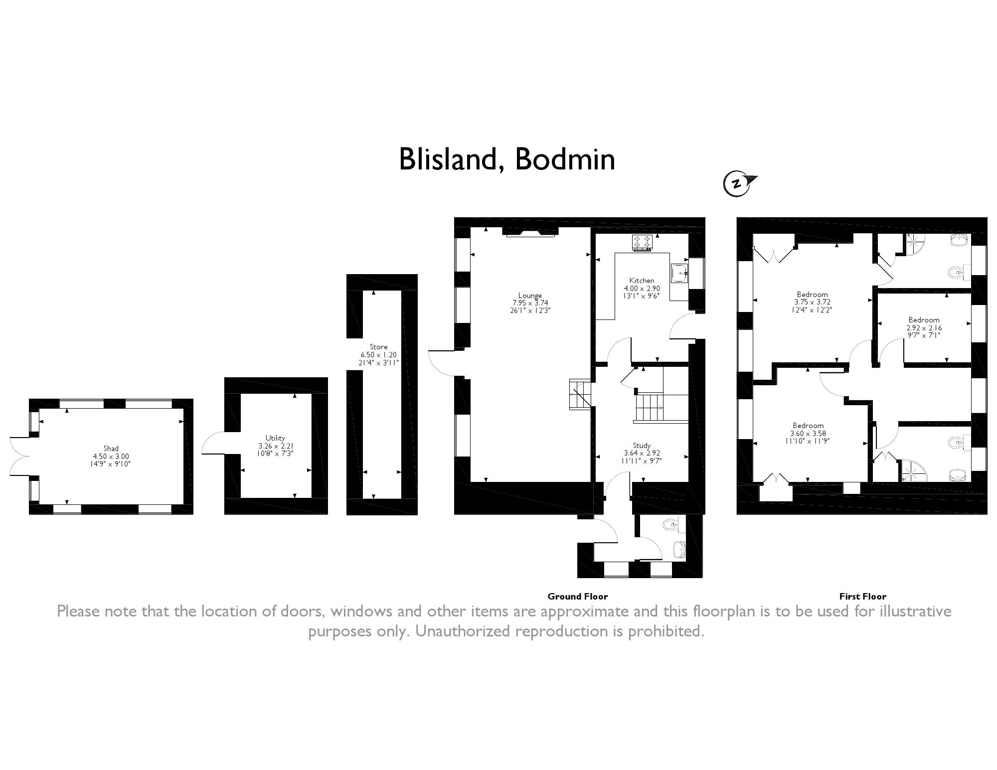 3 Bed Detached House For Sale In Blisland Bodmin Pl30