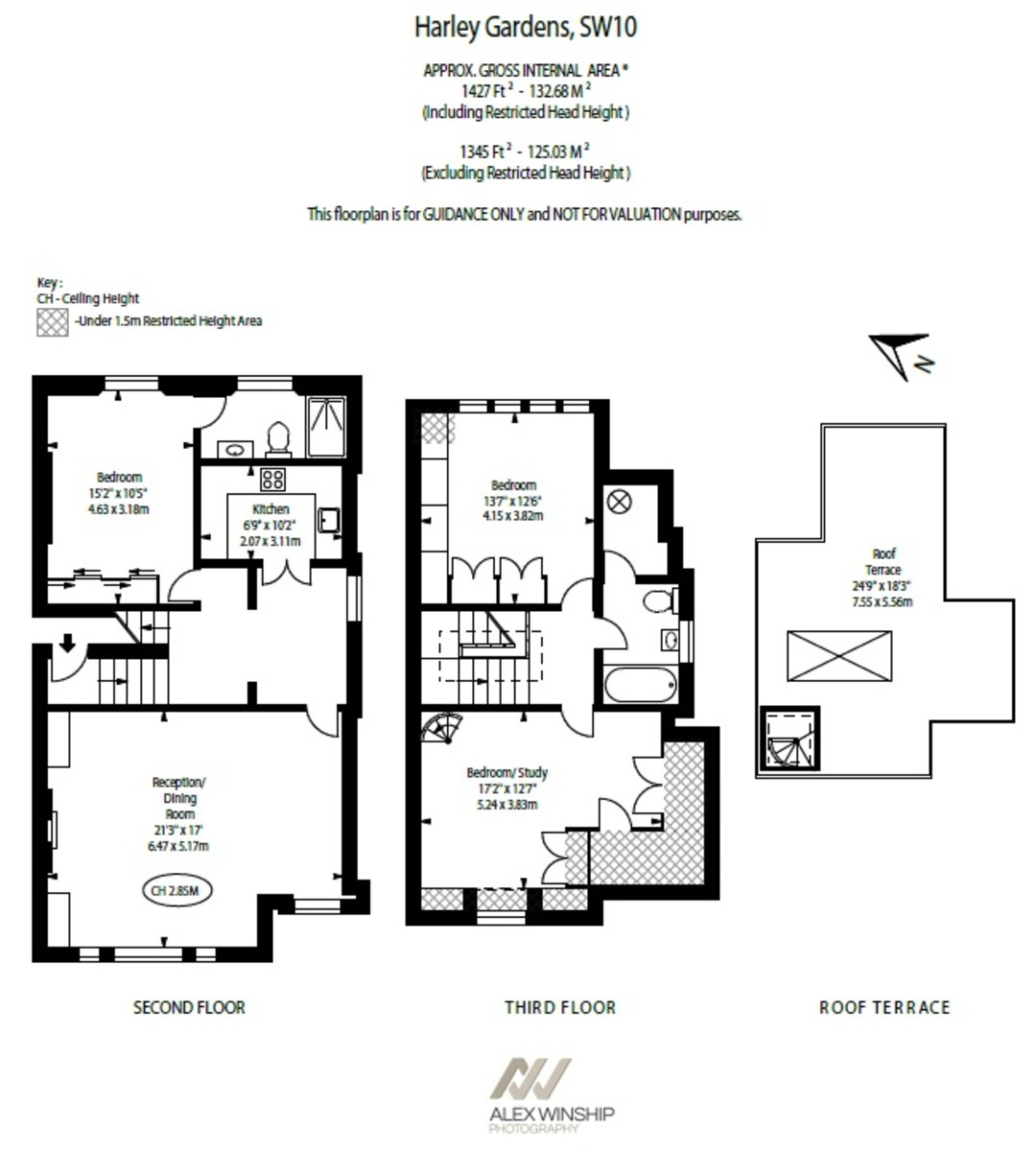 3 Bedroom Flat Diagram