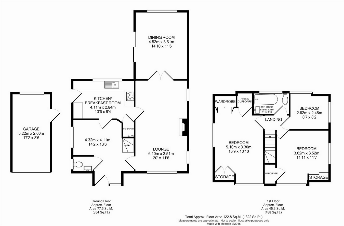 3 Bed Detached House For Sale In Hawkewood Road Sunbury
