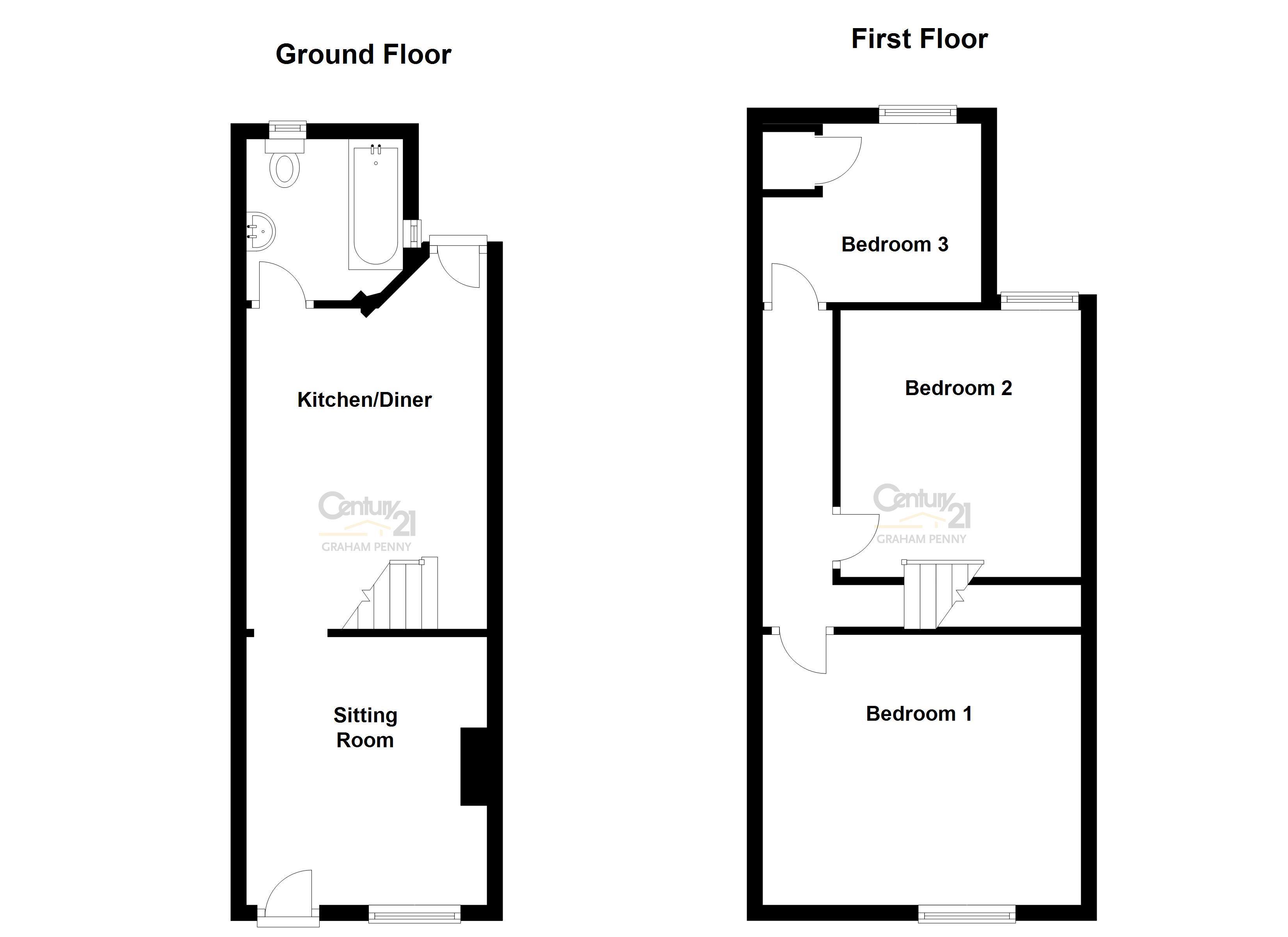 Havelock Road, Derby DE23, 3 bedroom terraced house for