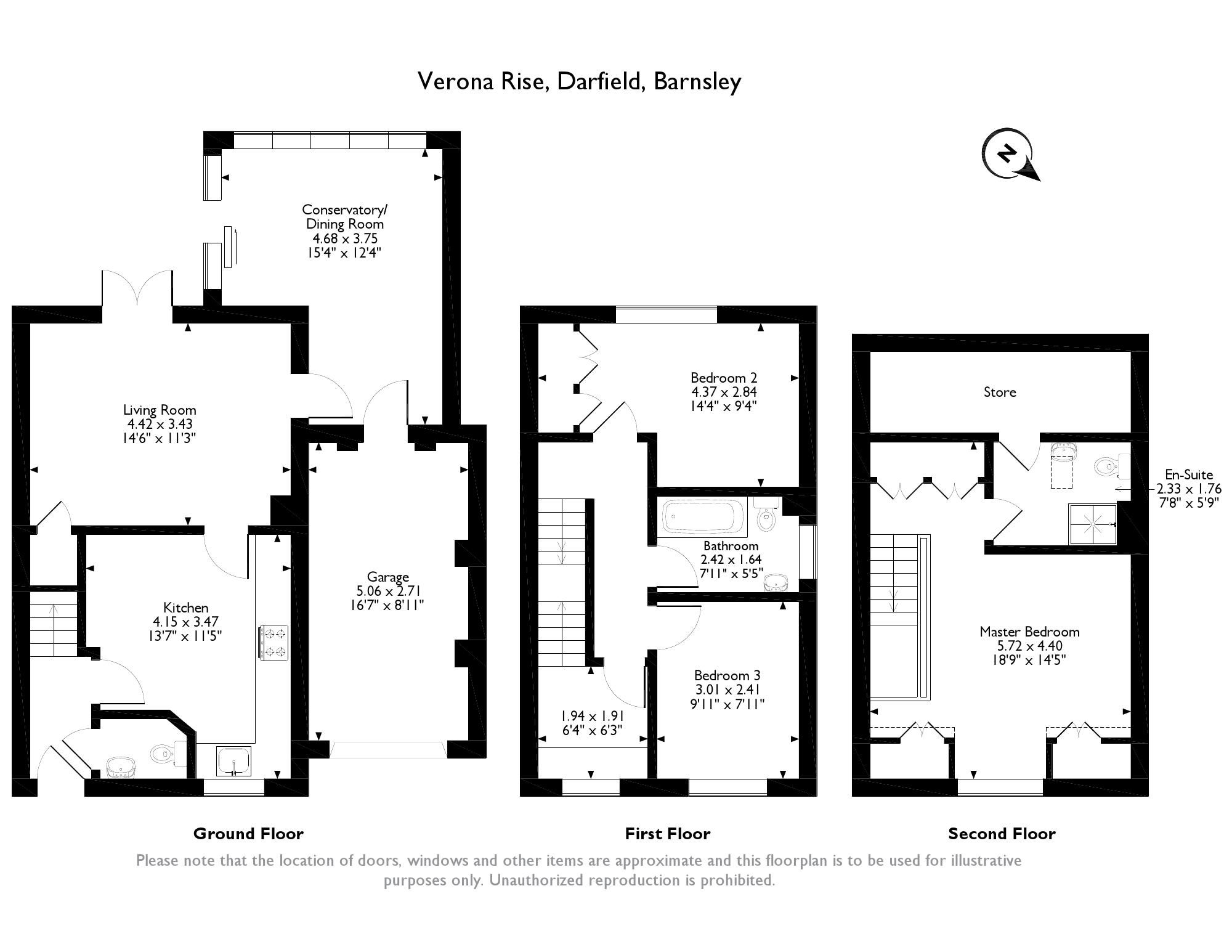 Verona Rise, Barnsley, South Yorkshire S73, 3 bedroom semi